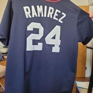 Authentic MLB Red Sox Ramirez Jersey